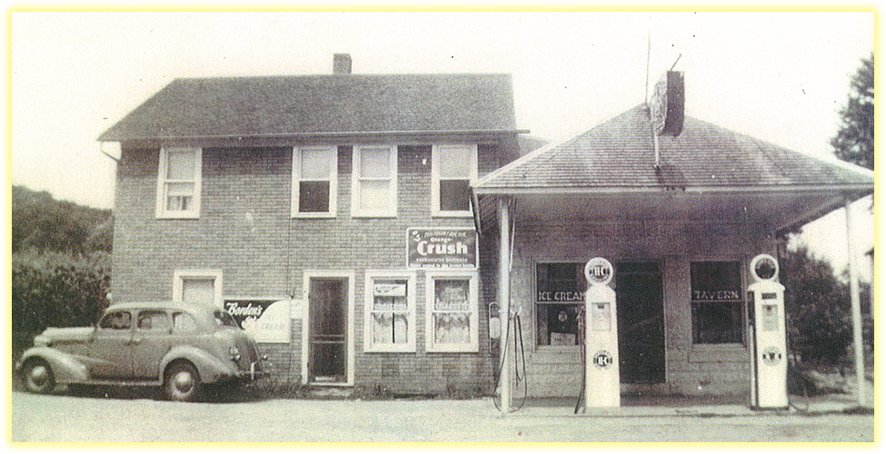 Kalmes Restaurant & Catering | Kalmes Family Service Station in 1930's